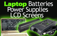 Laptop Batteries and Power Cords