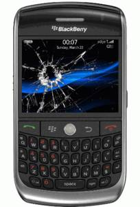 Cracked Blackberry Screen