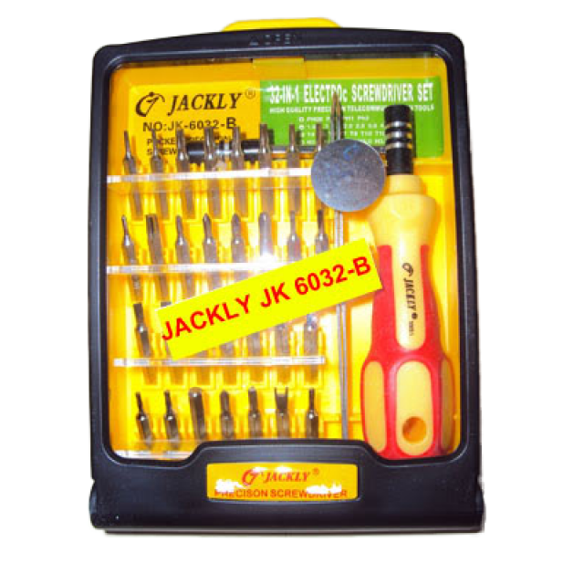 wintronic computers store accessories tools tools jackly jk 6032 32 in 1 screwdriver. Black Bedroom Furniture Sets. Home Design Ideas