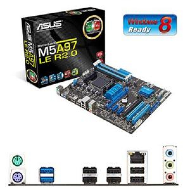 wintronic computers store motherboards amd based socket am3 asus asus m5a97 le r2 0. Black Bedroom Furniture Sets. Home Design Ideas